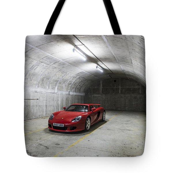 Porsche Carrera Gt Tote Bag