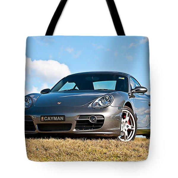 Porsche Cayman Tote Bag