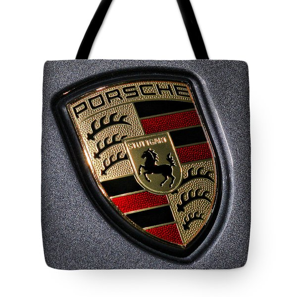 Porsche Tote Bag by Gordon Dean II