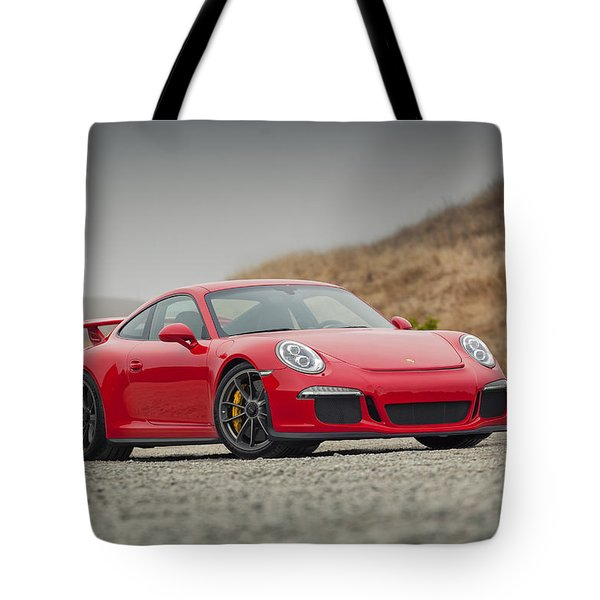 Tote Bag featuring the photograph Porsche 991 Gt3 by ItzKirb Photography