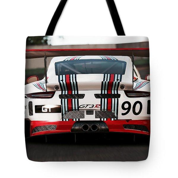 Porsche Gt3, Martini Racing, Monza - 03 Tote Bag