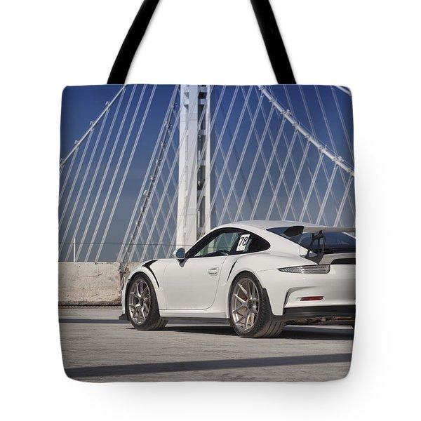Porsche Gt3rs Tote Bag