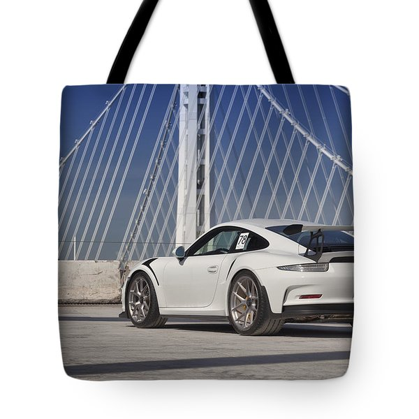 Porsche Gt3rs Tote Bag