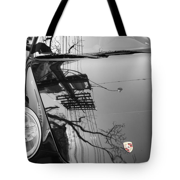 Porsche Reflections Tote Bag