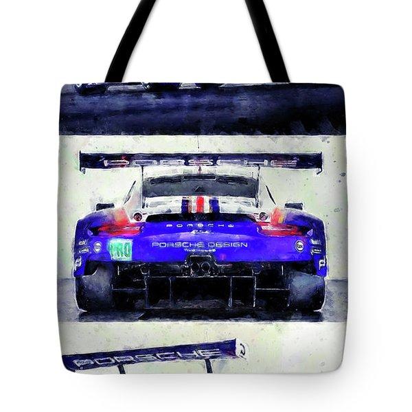 Porsche Rsr Le Mans 2018 - 02 Tote Bag