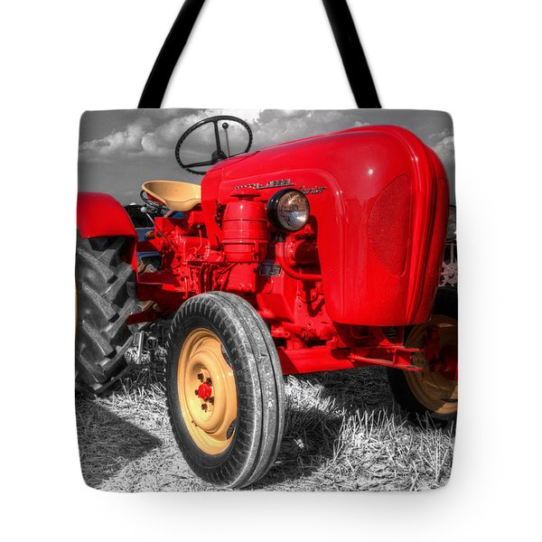 Porsche Tractor Tote Bag by Rob Hawkins