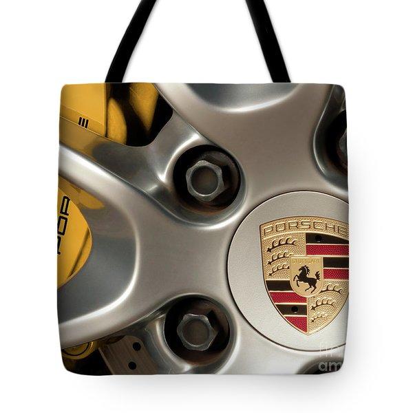 Porsche Wheel Detail #2 Tote Bag