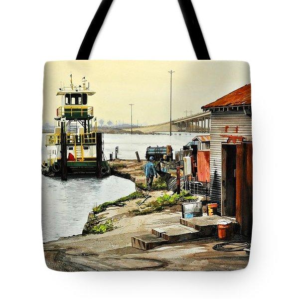 Port Aransas Ways Tote Bag