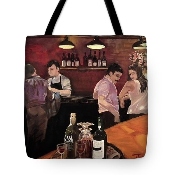 Port Bar Tote Bag