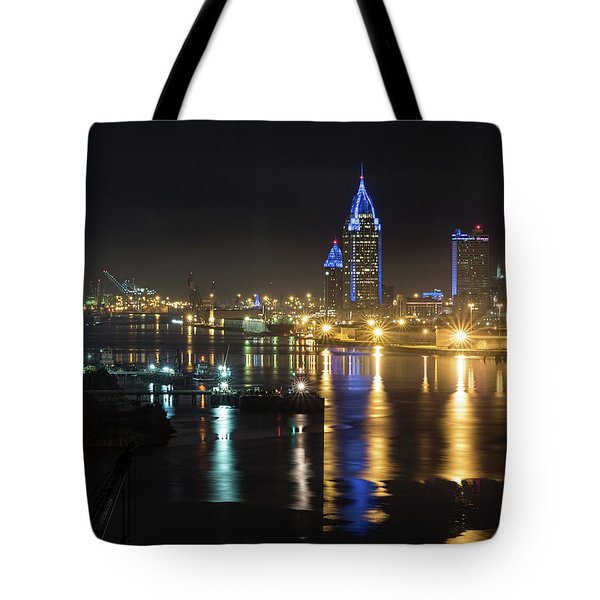 Port City Honors Blue Tote Bag