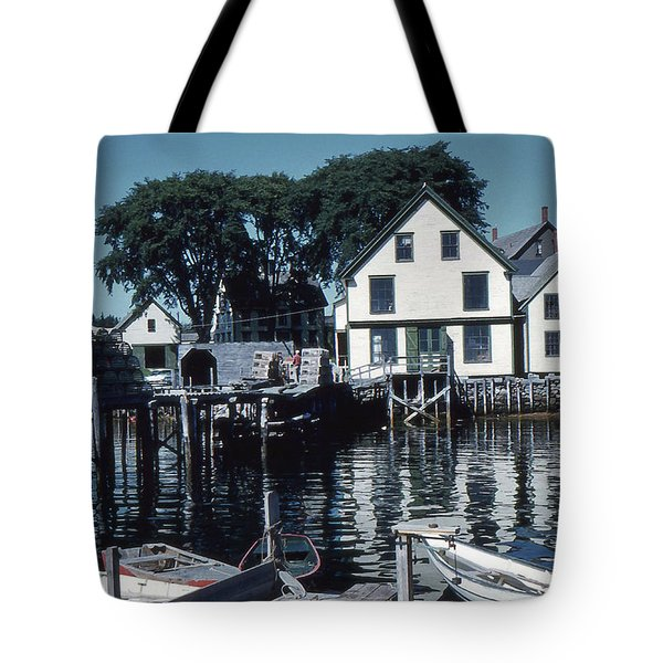 Port Clyde Maine Tote Bag