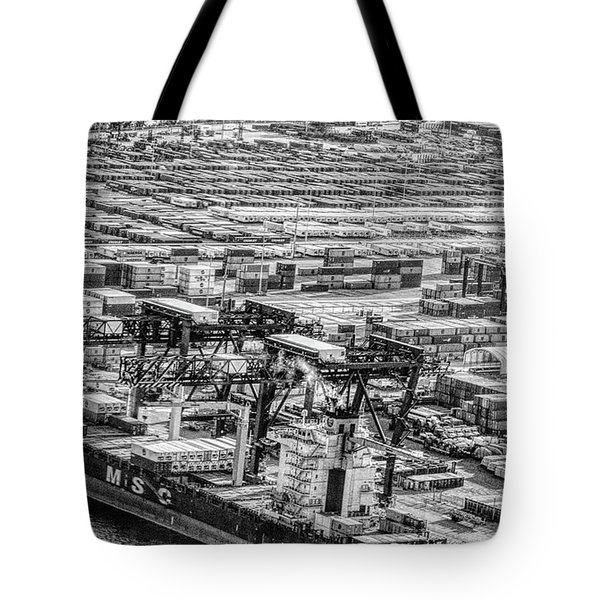 Port Everglades 1 Tote Bag