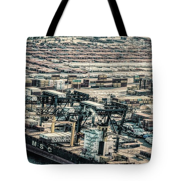 Port Everglades 2 Tote Bag