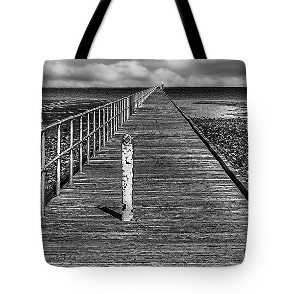 Port Germein Long Jetty Tote Bag