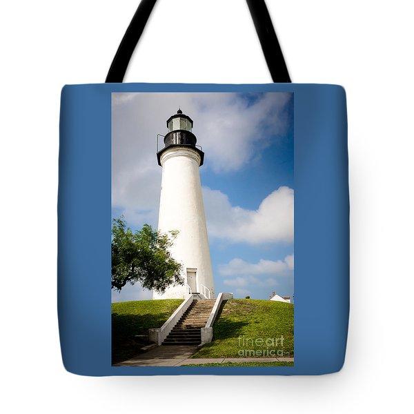 Port Isabel Lighthouse Tote Bag