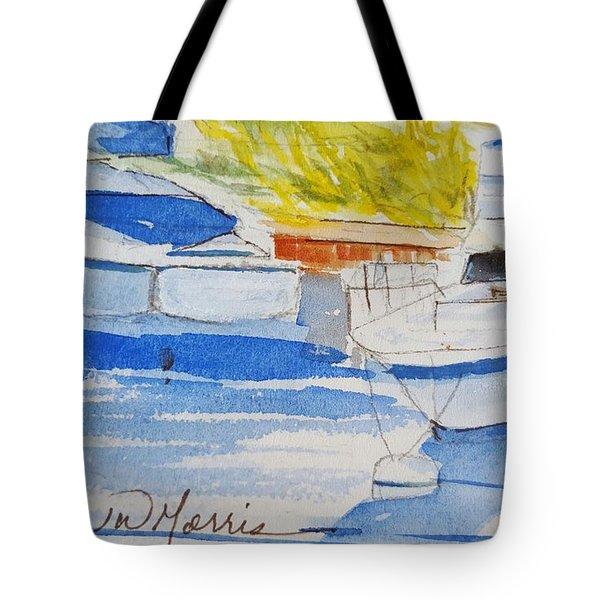 Port Ludlow Marina Tote Bag