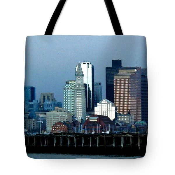 Port Of Boston Tote Bag