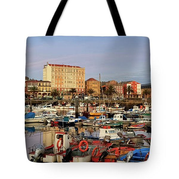 Tote Bag featuring the photograph Port Of Ferrol Galicia Spain by Pablo Avanzini