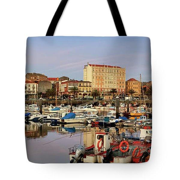 Port Of Ferrol Galicia Spain Tote Bag
