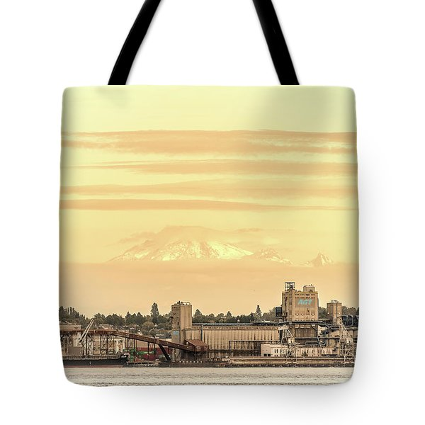 Port Of Vancouver Tote Bag