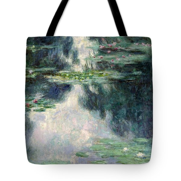 Port-pond With Water Lilies-1907 Tote Bag