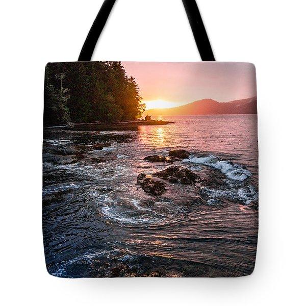 Port Renfrew Evening Tote Bag