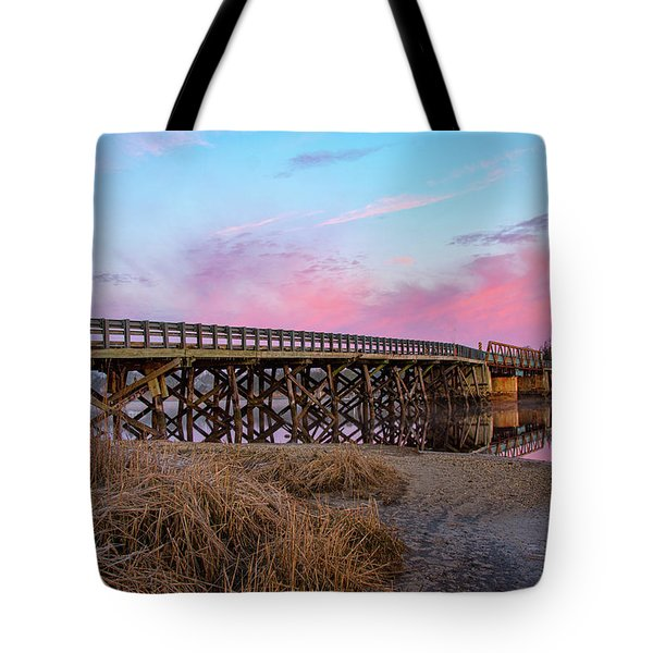 Port Republic Nacote Creek Bridge Tote Bag