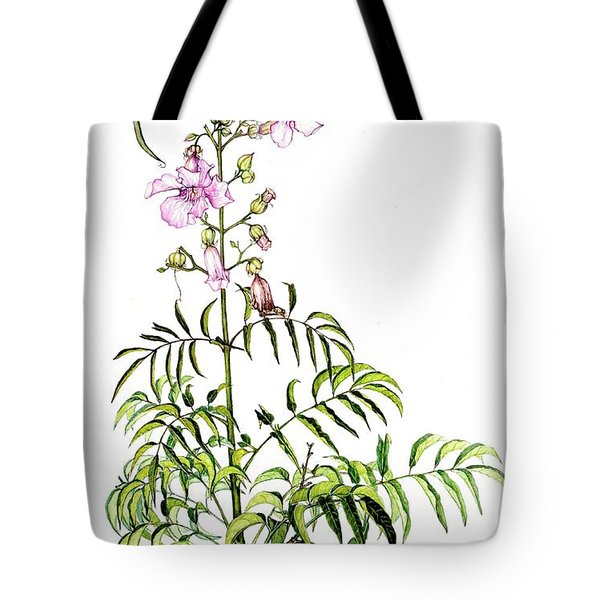 Tote Bag featuring the painting Port St John's Creeper by Heidi Kriel
