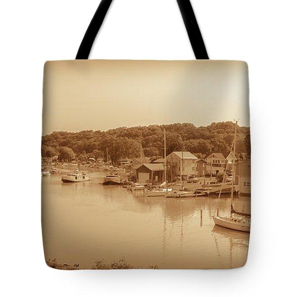 Port Stanley Waterway Tote Bag