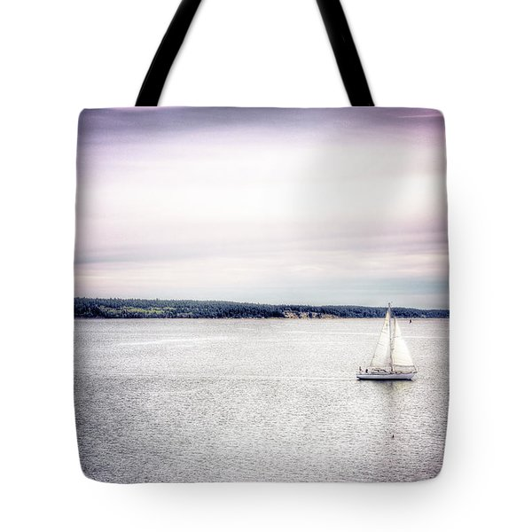 Port Townsend Sailboat Tote Bag