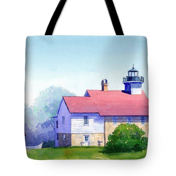 Port Washington Lighthouse Tote Bag