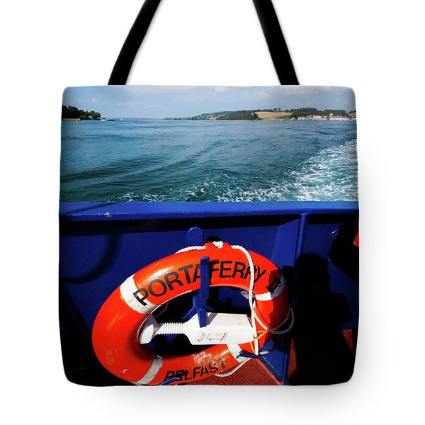 Portaferry Ferry Tote Bag