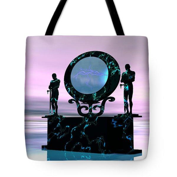 Portal Tote Bag by Corey Ford