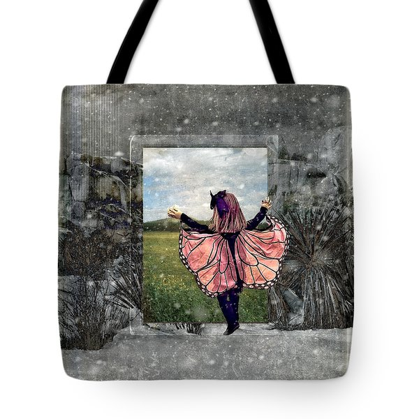 Portal Into Spring Tote Bag