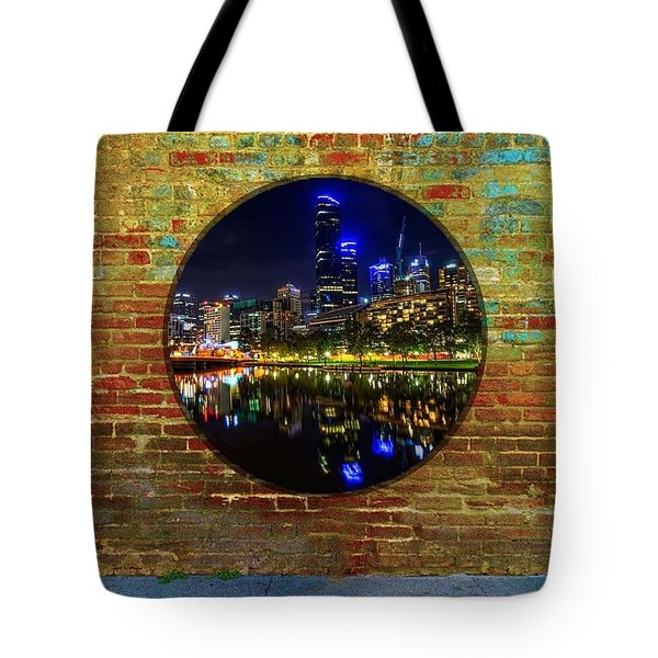 Portal Tote Bag by Mark Blauhoefer