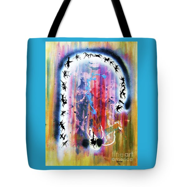 Portal Of Beginning Again Tote Bag