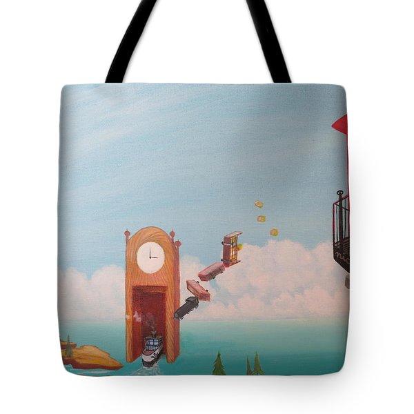 Portal Problems Tote Bag