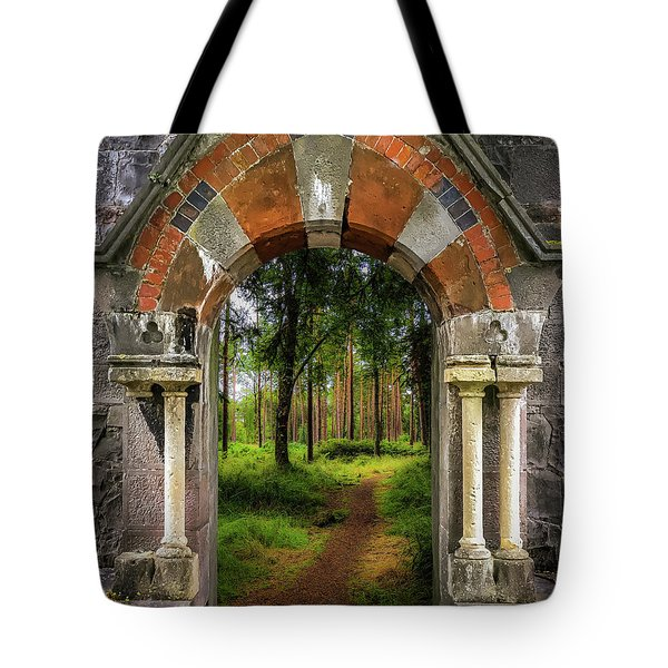 Tote Bag featuring the photograph Portal To Portumna Forest by James Truett
