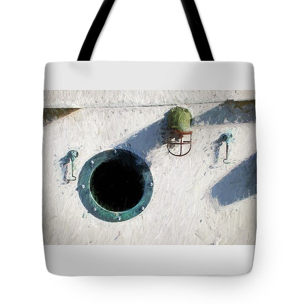 Portal To The Sea, Fine Art Print Tote Bag