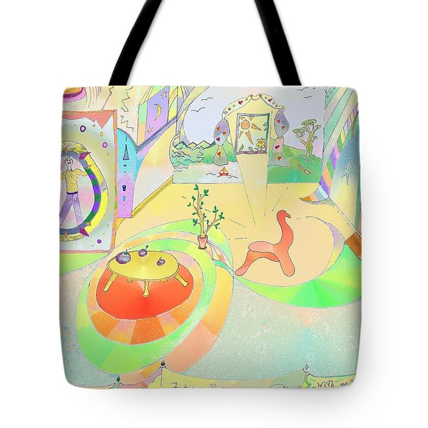 Portals And Perspectives Tote Bag
