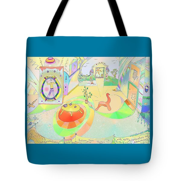 Portals And Perspectives Tote Bag