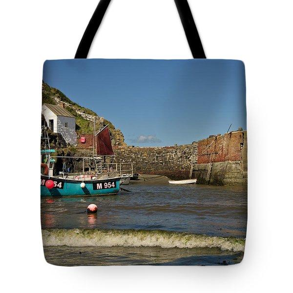 Porthgain In Wales Tote Bag