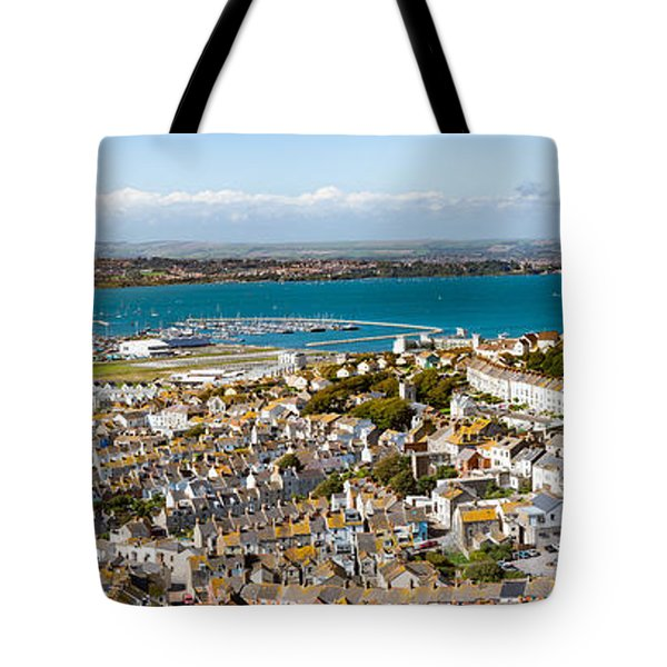 Portland And Chesil Beach Tote Bag