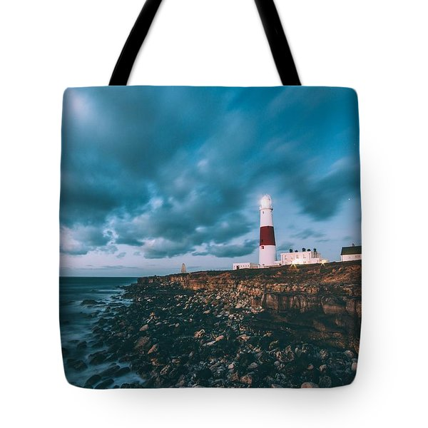 Portland Bill Dorset Tote Bag