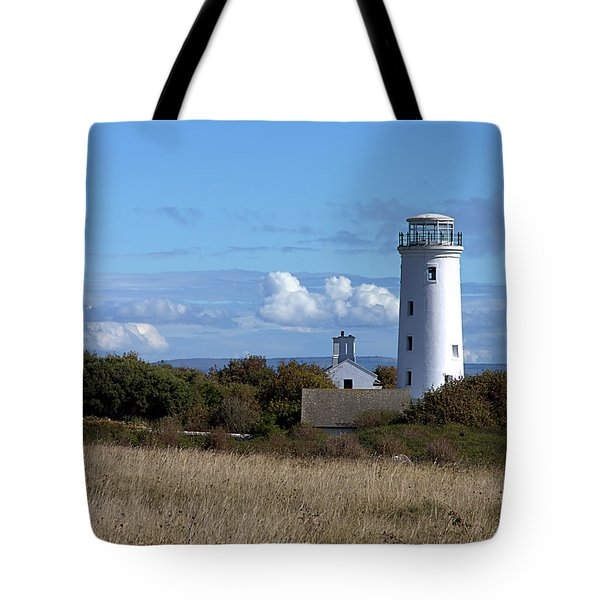 Tote Bag featuring the photograph Portland Bird Observatory by Baggieoldboy