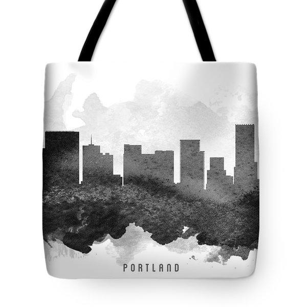 Portland Cityscape 11 Tote Bag