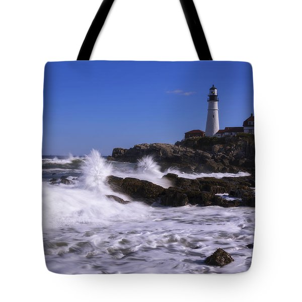 Portland Head Light I Tote Bag