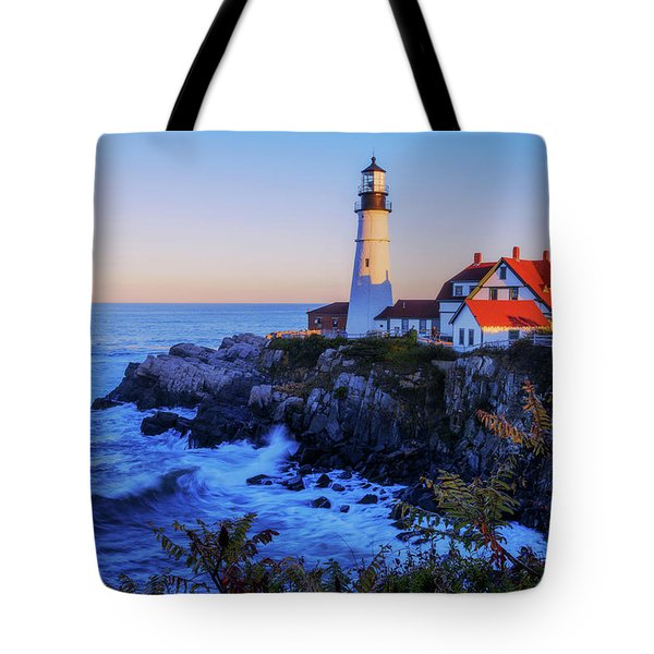 Portland Head Light II Tote Bag