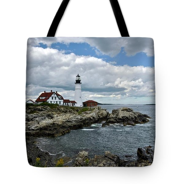 Portland Head Light, Starboard Tote Bag