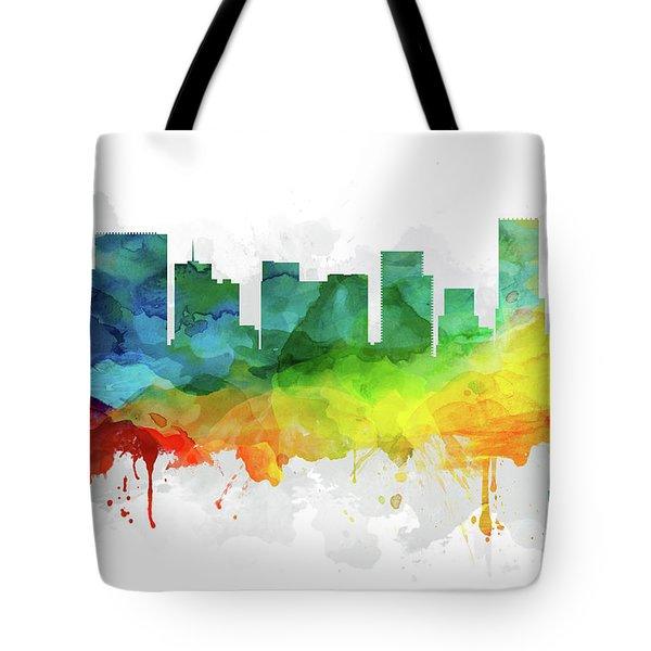 Portland Skyline Mmr-usorpo05 Tote Bag
